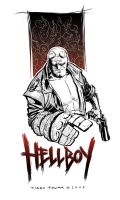 Hellboy by palmations