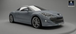 Peugeot RCZ 2010 by Siegfried-Ukr