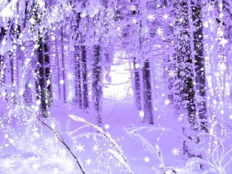 Winter in the Enchanted Forest by Aerin-Sama