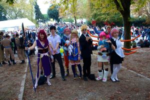 Fairy Tail Cosplay Group by Tanpopo89