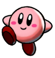 Kirby - MLBIS Style by The-Super-Brawl-Girl