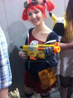 Gaige cosplay MCM Expo Feb 2013 by Vez-chan