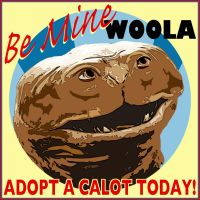 Be Mine Woola, Adopt a Calot by khamarupa