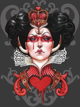 Queen of Hearts by Medusa-Dollmaker