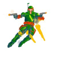 Boba Fett without line art by DetectiveDuckMan