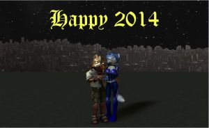 New Years 2014 by HectorNY