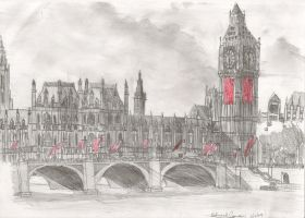 London in my way by Yinai-185