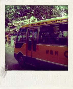 yellow bus by wronggirl