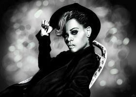 Rihanna - Talk that talk by miriamlindqvist