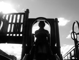 Silhouetted on the Slide by ApocryphionXII