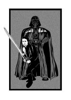 Star Wars - Father and Son by mikedaws
