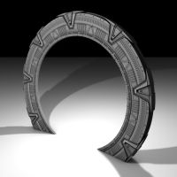 Stargate Model WIP 4 by Stefan1502