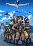 Kitsune Fighter Squadron by jmardesigns