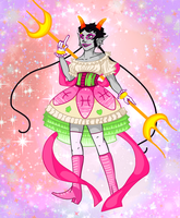 Magical Girl Meenah Peixes by GrumpyDragon