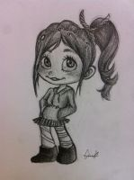 Vanellope by Blue-eyed-Raccoon
