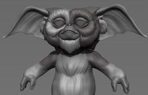 Gizmo - Zbrush Doodle by FoxHound1984