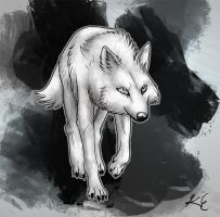Daily - 15 Wolf by LeechLights