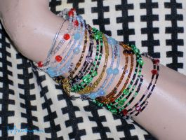 Seed Bead Bracelets Collection by mizufusion
