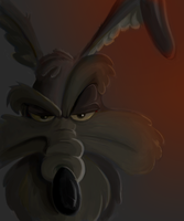 Wile E. Portrait by BoscoloAndrea