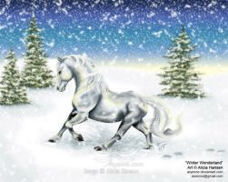 Winter Wonderland by Aryenne
