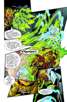 Sonic Universe #28 pg 16 Re-Color by Ziggyfin