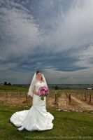 Bride and the coming storm by La-Vita-a-Bella