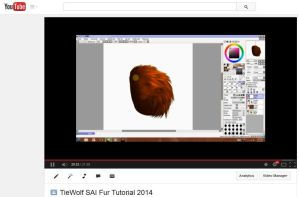 TieWolf's SAI Fur Tutorial 2014 - VIDEO by TieWolf