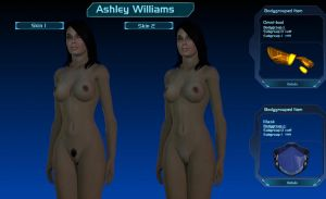 Deus ex Nihilo's Nude Ashley Williams For Gmod by Rastifan