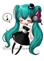 Miku Magnet Sticker by Heather-Scribble