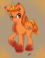 Autumn Pony Adoptable (OPEN, only 10pts!) by DragonsAndDreamscape