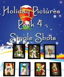 MMD - Holiday Pictures - PACK 4 + DL by RoseBeri