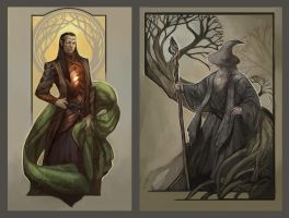 Fan Art from The Hobbit by juliedillon