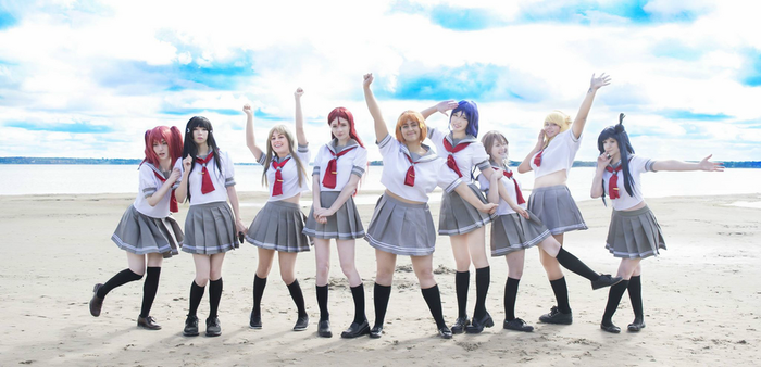 Love Live! Sunshine Cosplay by AeraYuna