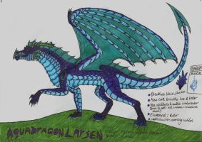Aquadragon Ref by crescentwolf01