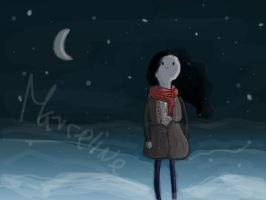 Winter with Marcy by teachee