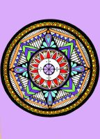 Mandala Colour With Background by DaraghBurke