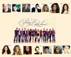 Pretty Little Liars Girls and Guys Wallpaper by nickelbackloverxoxox