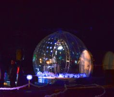 Disco dome by MagicCometART