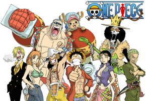 One Piece after 2years Colored by marvelmania