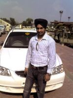 Me wid ma car by MacGadger