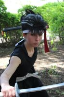 Hiei Cosplay Shot by grimmons88