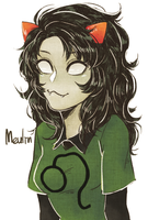 homestuck: Meulin by norong