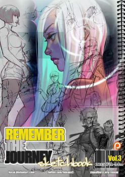 Remember the Journey sketchbook Vol.3 PDF for $3+ by kasai