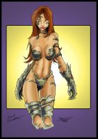 Witchblade by Wallcrawler62