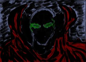 Spawn Sketch Inked by fmvra1s