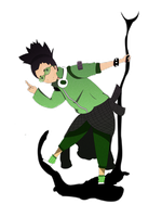 Fan art Shikamaru by Victordepaula
