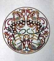 Celtic Deer by CelticArt