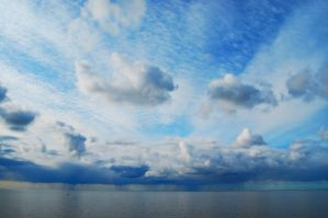 The sea and the sky by kuzjka