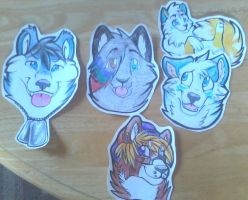 Set 1 Badges by That-CrazyCat
