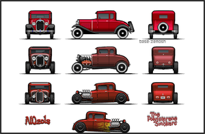 Model A Coupes by NOzols